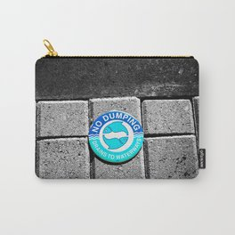 Swimming with the Fishes Carry-All Pouch