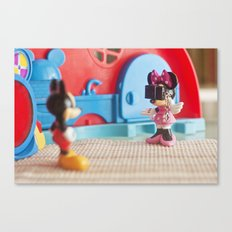 A mini photographer Canvas Print