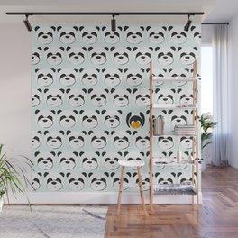 Panda'monium Wall Mural