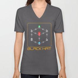 Deus Ex - Black Hat Unisex V-Neck