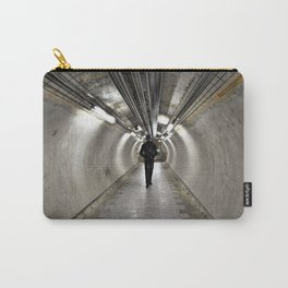 IN A LONDON UNDERGROUND TUNNEL Carry-All Pouch