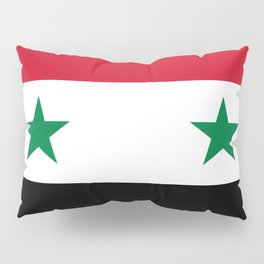 Syrian flag - may PEACE prevail Pillow Sham