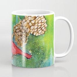 Christmas Cardinals Coffee Mug