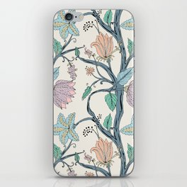 botanical pastel iPhone Skin