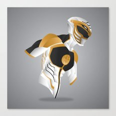 White Tiger Ranger - Redux Canvas Print
