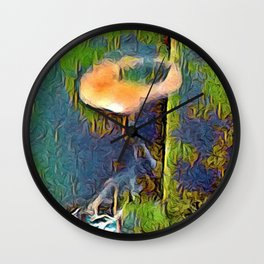 Herbal Ring Wall Clock