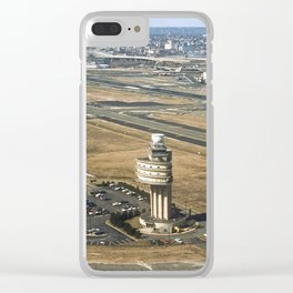 1st Route Air Traffic Control Tower in The US Clear iPhone Case
