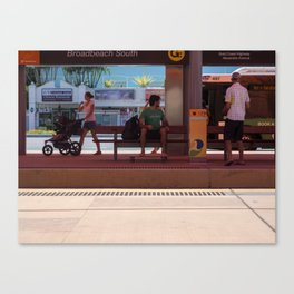 Broadbeach South Light Rail Canvas Print