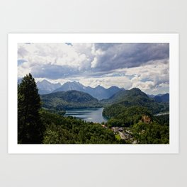 Bavaria, Germany Art Print
