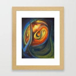 Luminous Forest Framed Art Print