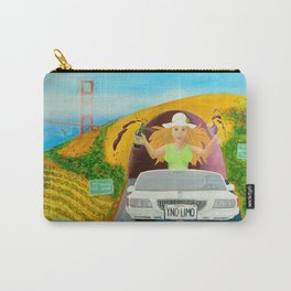 Escape to Wine Country - Wine Pop-Art Carry-All Pouch