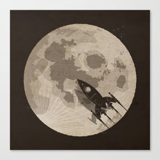 Around the Moon Canvas Print