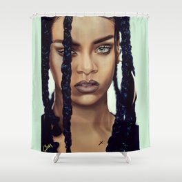 Queen RIRI Shower Curtain