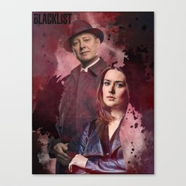 The Blacklist - Red and Liz Canvas Print