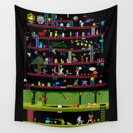 50 Classic Video Games Wall Tapestry