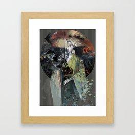 night bird Framed Art Print