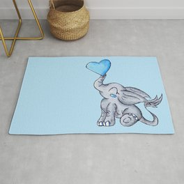 Heart for Baby (Boy) Rug
