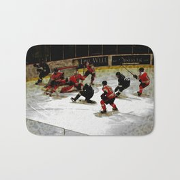 The End Zone - Ice Hockey Game Bath Mat