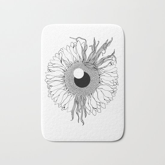 I See Beauty Until the End Bath Mat