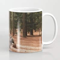 camp Mugs featuring Camp by Casey Afton Hess