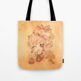 Twisted Candy Tote Bag