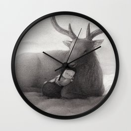 The Only Child Wall Clock