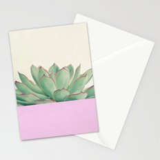 Succulent Dip Stationery Cards