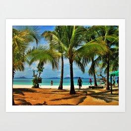 Malcapuya Island, Philippines Art Print