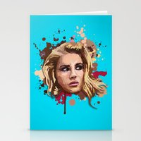lana Stationery Cards featuring Lana by Devis Pederzini
