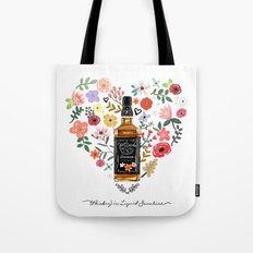 Whiskey Is Liquid Sunshine Tote Bag