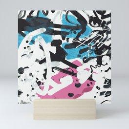 wild scribble Mini Art Print