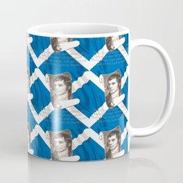 Selkirk Grace Burns Night And Scottish Saltire Coffee Mug