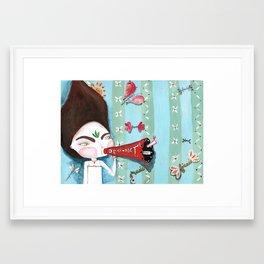 Ta Framed Art Print