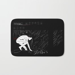 nit:e:scape // android underground Bath Mat