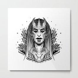 Demon Queen (Daily Sketch Series) Metal Print