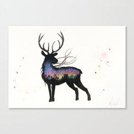 Aurora Australis Stag  Canvas Print