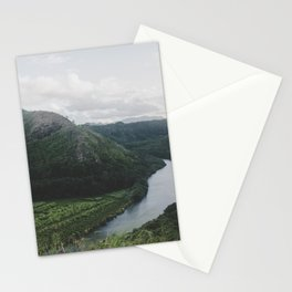 River Mountain Trail - Kauai, Hawaii Stationery Cards