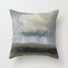 Tom Thomson - Landscape with Stormclouds - 1913 Throw Pillow