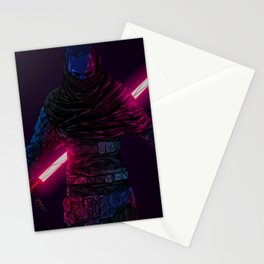 Star Wars digital artwork lightsaber Sith Star Wars:  The Force Unleashed II video game video games science fiction Alan Iwanowski-Pineiro simple background Stationery Cards
