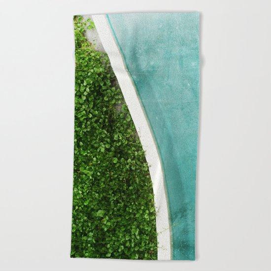 Reversal Beach Towel