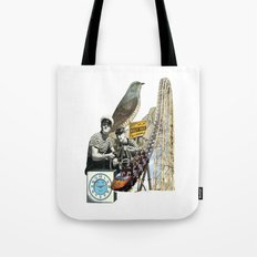 Navigate The Roller Coaster Ride Of Life Tote Bag