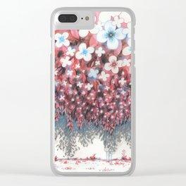 Je ne suis pas là Clear iPhone Case