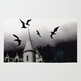 The house of Nevermore Rug