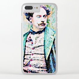 Richard Georg Strauss (1864 – 1949) (digitized photograph) Clear iPhone Case