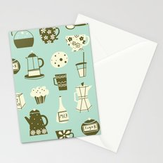 Cafe Au Lait Stationery Cards