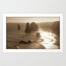 Our Planet's Evoloution Art Print