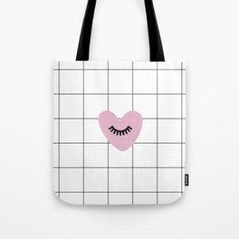 Love is blind Tote Bag