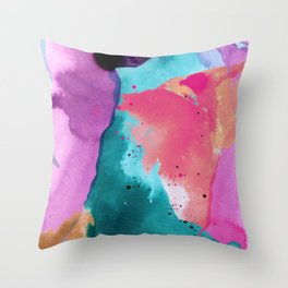 Heart of the Universe Throw Pillow