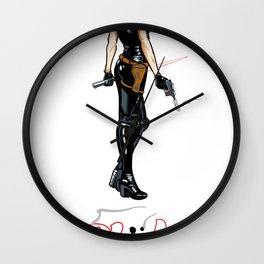 Just Power! Wall Clock