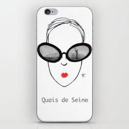 A Few Parisians: Quais de Seine iPhone Skin